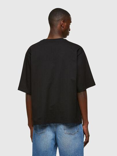 Diesel - T-DELPHI-E1, Schwarz - T-Shirts - Image 2