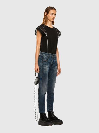 Diesel - Fayza JoggJeans 069PD, Dunkelblau - Jeans - Image 7