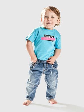 TJUSTDIXB, Azurblau - T-Shirts und Tops