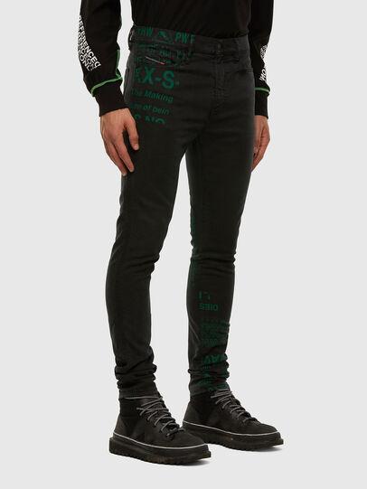 Diesel - D-REEFT JoggJeans® 009HD, Schwarz/Dunkelgrau - Jeans - Image 6