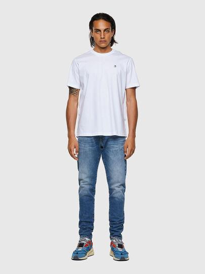 Diesel - T-JUST-ROMOHI, Weiß - T-Shirts - Image 4