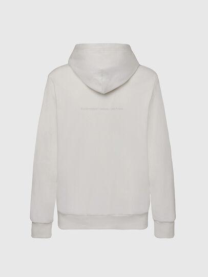 Diesel - S-GIRK-HOOD-X1, Weiß - Sweatshirts - Image 2