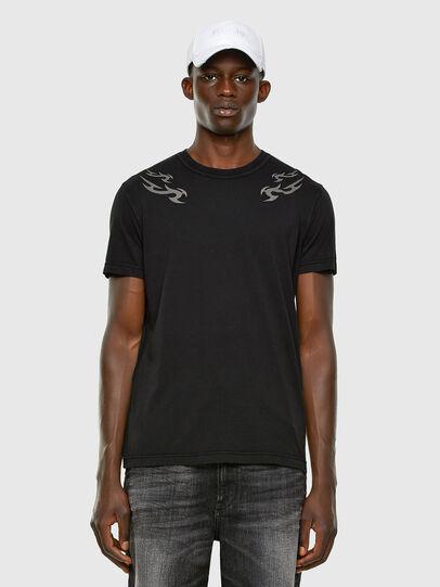 Diesel - T-DIEBIND, Schwarz - T-Shirts - Image 5