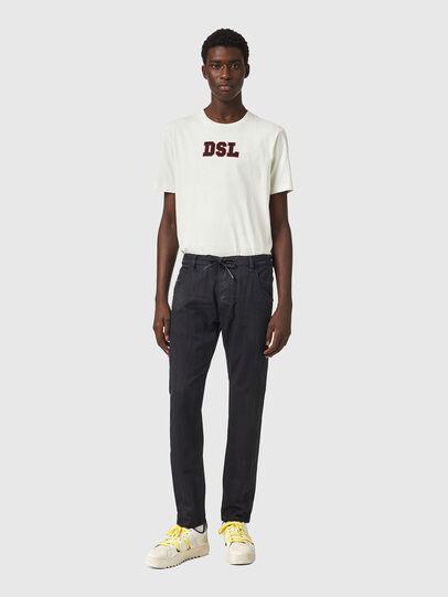 Diesel - Krooley JoggJeans® 069WW, Schwarz/Dunkelgrau - Jeans - Image 5