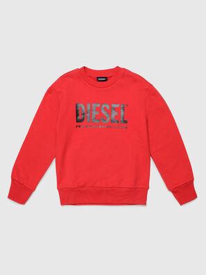 SCREWDIVISION-LOGO O, Rot - Sweatshirts