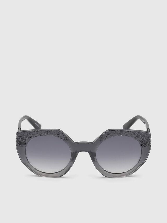 Diesel - DL0258, Grau - Sonnenbrille - Image 1