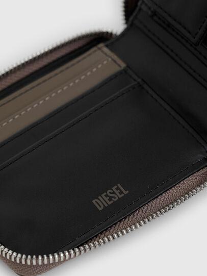 Diesel - HIRESH XS ZIPPI, Beige - Portemonnaies Zip-Around - Image 4