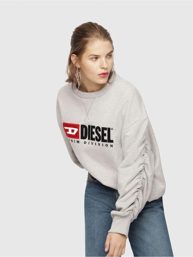 Diesel - F-ARAP, Hellgrau - Sweatshirts - Image 4