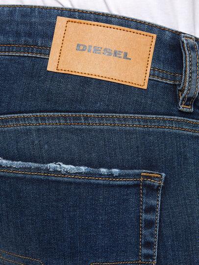 Diesel - Sleenker 009DK, Dunkelblau - Jeans - Image 4