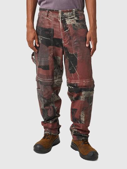 Diesel - D-Multy JoggJeans® 0CEAM, Rosa/Schwarz - Jeans - Image 1
