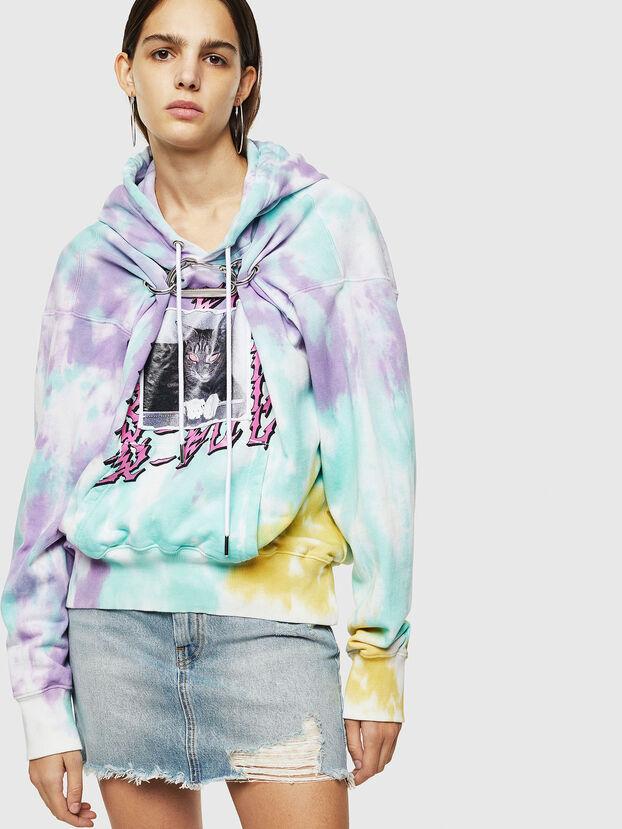 F-ALBYHOOK-B, Bunt - Sweatshirts
