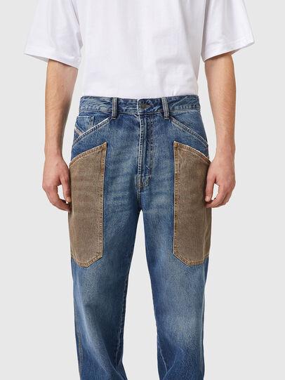 Diesel - D-Franky 0GCAY, Mittelblau - Jeans - Image 4