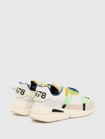 Diesel - S-SERENDIPITY LACE, Weiss/Rosa - Sneakers - Image 3