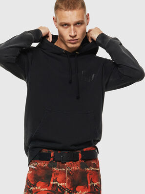 S-GIRK-HOOD-SUN, Schwarz - Sweatshirts