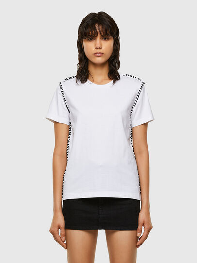 Diesel - T-TWISTY, Weiß - T-Shirts - Image 1