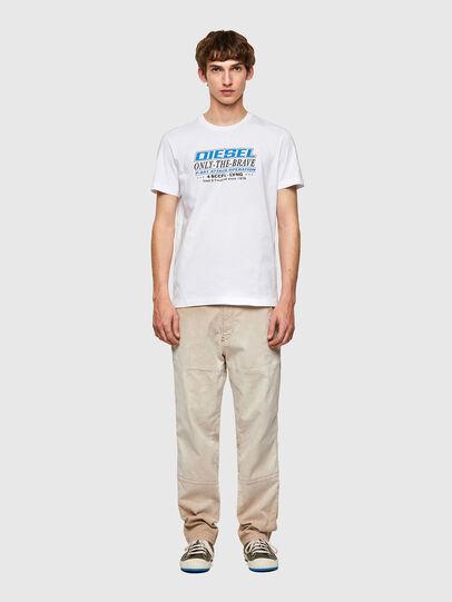 Diesel - T-DIEGOS-K20, Weiß - T-Shirts - Image 4