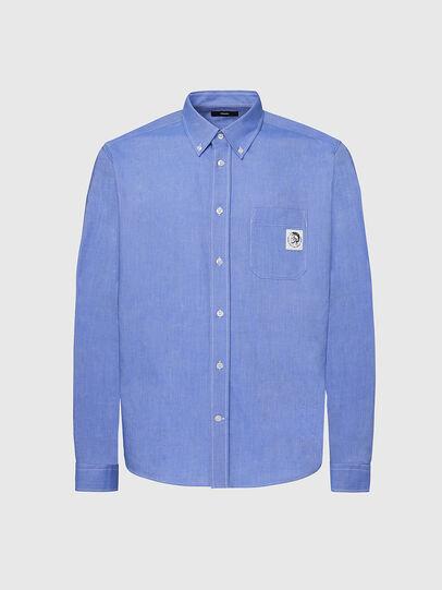 Diesel - S-JAMES, Blau - Hemden - Image 1