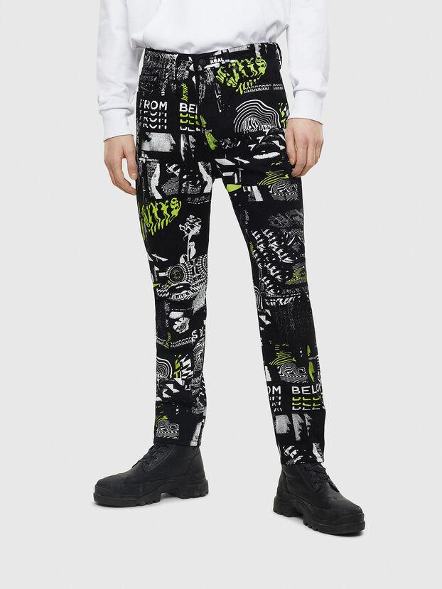D-Vider 009BC, Schwarz - Jeans