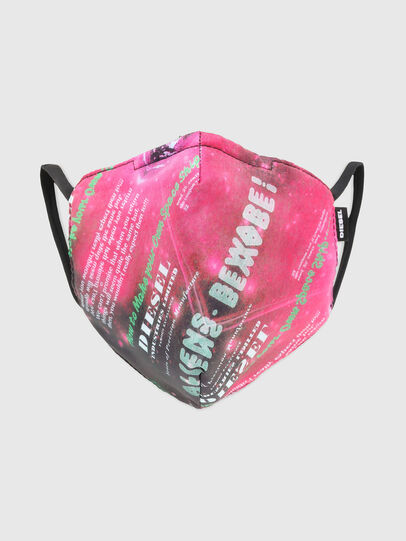 Diesel - FACEMASK-UNIVERSE-PI, Rosa - Weitere Accessoires - Image 1