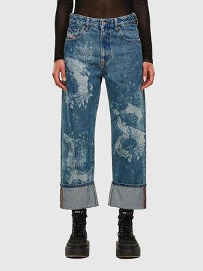 D-Reggy 0079H, Mittelblau - Jeans