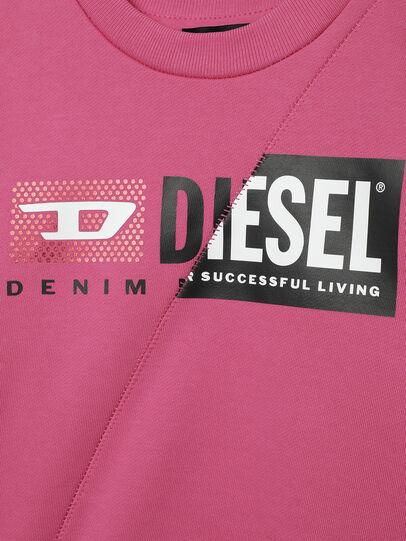 Diesel - SGIRKCUTYB-FL-R, Rosa - Sweatshirts - Image 3