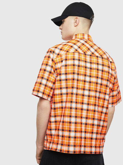 Diesel - S-ATWOOD-A, Orange - Hemden - Image 2