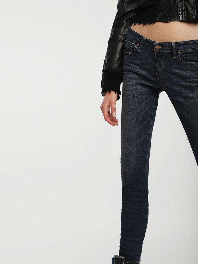 Diesel - Gracey 085AE, Dunkelblau - Jeans - Image 3
