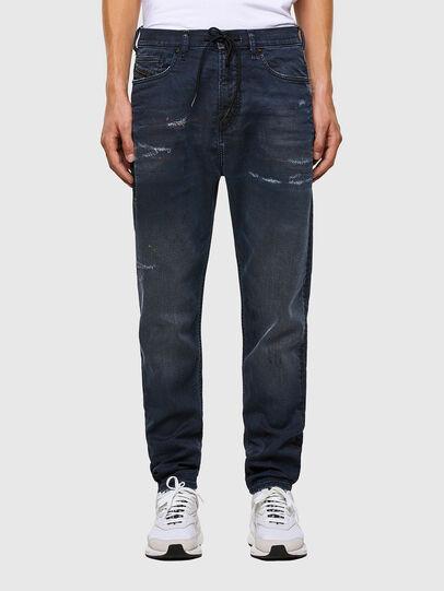 Diesel - D-Vider JoggJeans 069QH, Dunkelblau - Jeans - Image 1