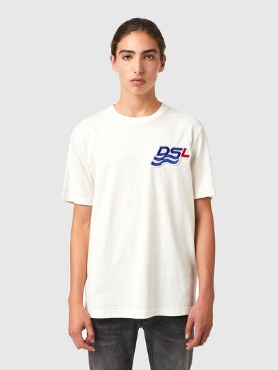 Diesel - T-JUST-B83, Weiß - T-Shirts - Image 1