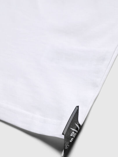 Diesel - TJUSTY7, Weiß - T-Shirts und Tops - Image 4