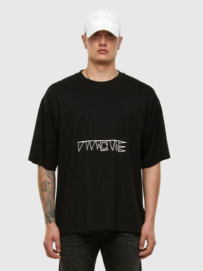 Diesel - T-BALL-X1, Schwarz - T-Shirts - Image 5