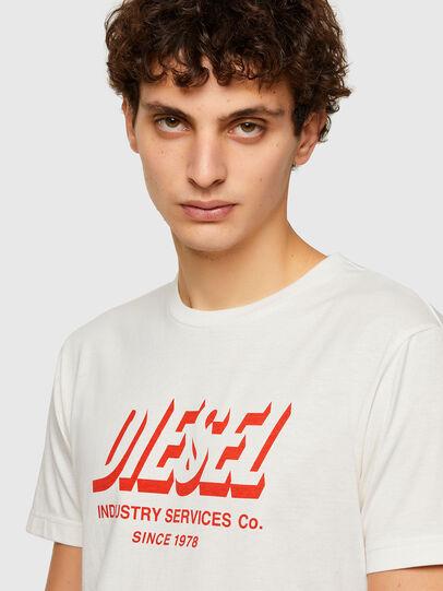 Diesel - T-DIEGOS-A5, Weiß - T-Shirts - Image 3