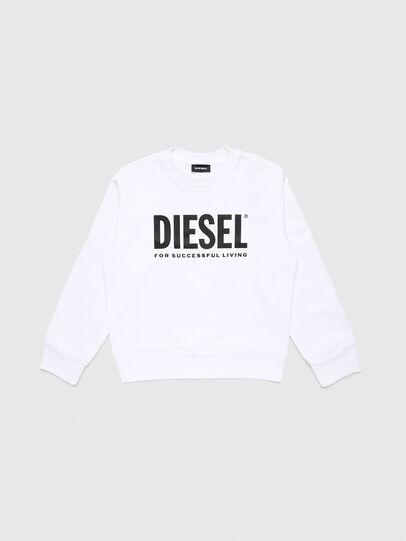 Diesel - SCREWDIVISION-LOGO O, Weiß - Sweatshirts - Image 1
