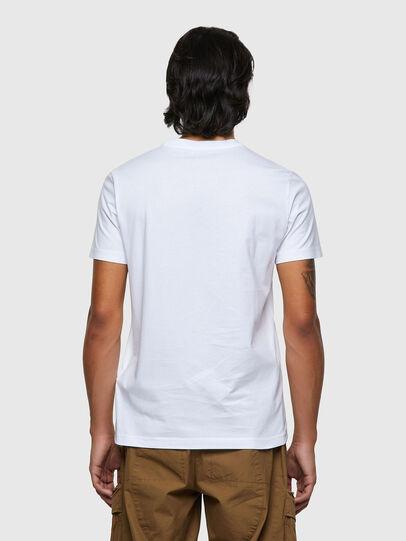 Diesel - T-DIEGOS-ECOSMALLOGO, Weiß - T-Shirts - Image 2