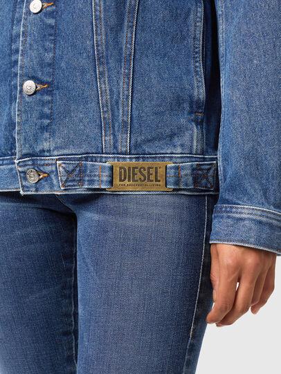 Diesel - NHILL-C1, Mittelblau - Denim jacken - Image 6