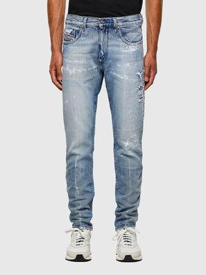 D-Strukt 009KH, Hellblau - Jeans