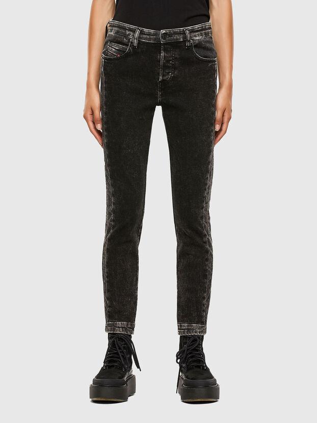 Babhila 009FH, Schwarz/Dunkelgrau - Jeans