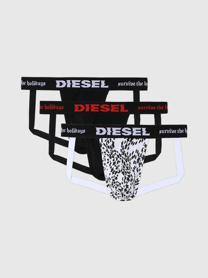 Diesel - UMBR-JOCKYTHREEPACK, Schwarz/Weiss - Jockstraps - Image 1
