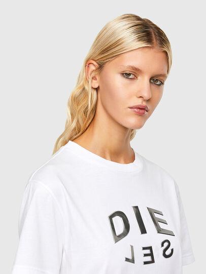 Diesel - T-DARIA-R1, Weiß - T-Shirts - Image 3