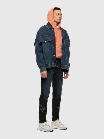 Diesel - D-Vider JoggJeans 009HE, Dunkelblau - Jeans - Image 7