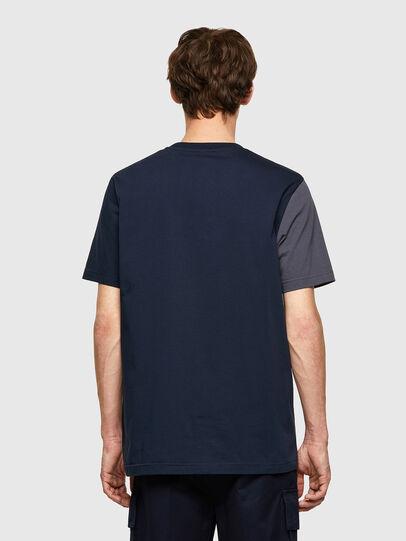 Diesel - T-RISEN-B1, Dunkelblau - T-Shirts - Image 2