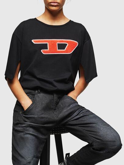 Diesel - Fayza JoggJeans 069GP, Schwarz/Dunkelgrau - Jeans - Image 4