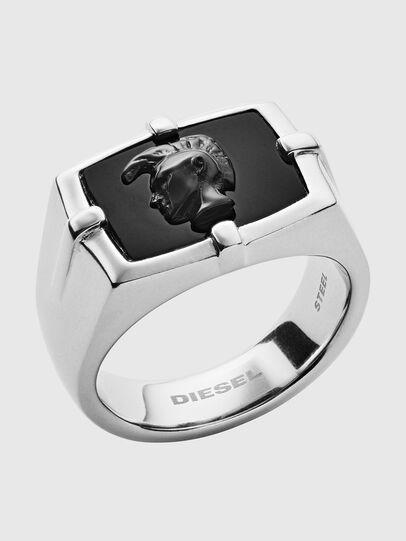 Diesel - DX1175, Silber/Schwarz - Ringe - Image 1