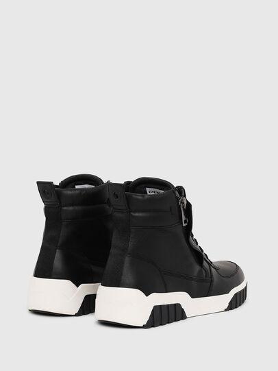 Diesel - S-RUA MID, Schwarz - Sneakers - Image 3