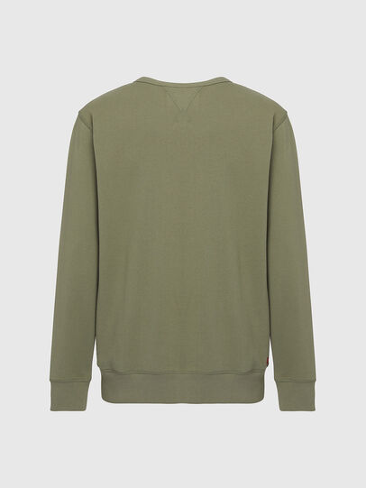 Diesel - UMLT-WILLY, Olivgrün - Sweatshirts - Image 2