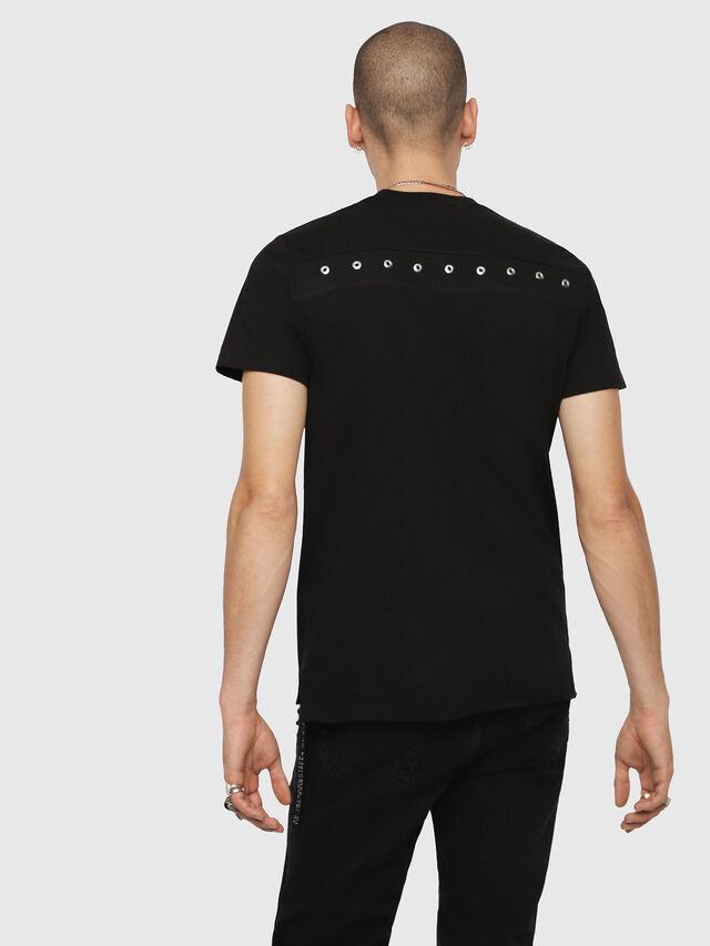 Diesel - T-DIEGO-XMAS, Schwarz - T-Shirts - Image 2