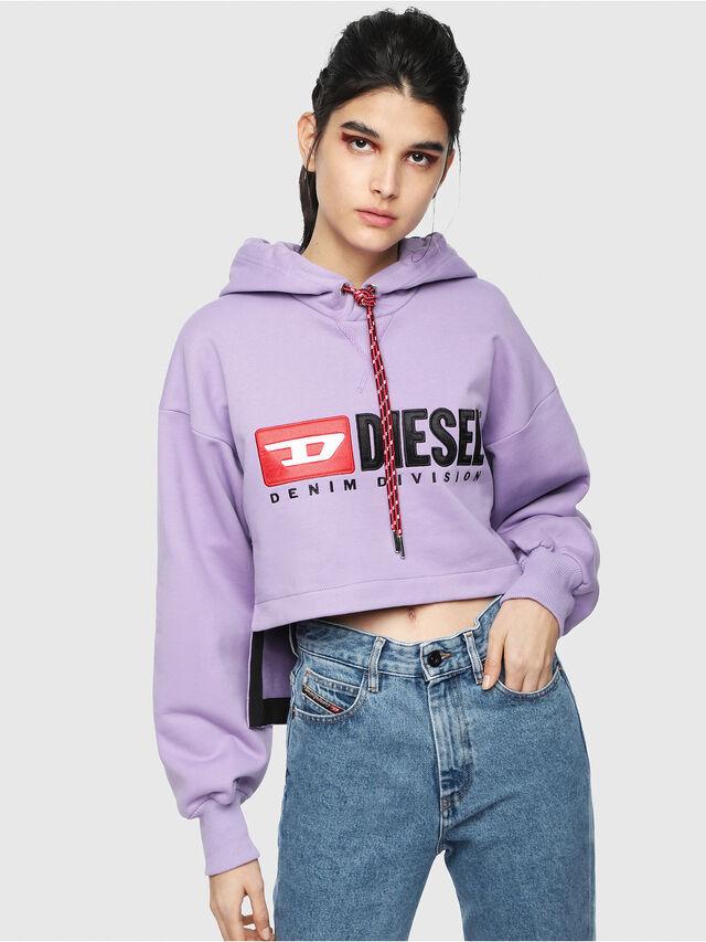 Diesel - F-DINIE-A, Lila - Sweatshirts - Image 1