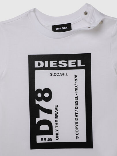Diesel - TFULL78B, Weiß - T-Shirts und Tops - Image 3