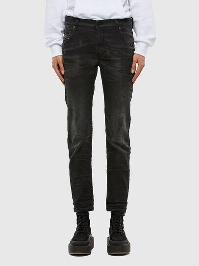 Diesel - KRAILEY JoggJeans® 069QL, Schwarz/Dunkelgrau - Jeans - Image 1
