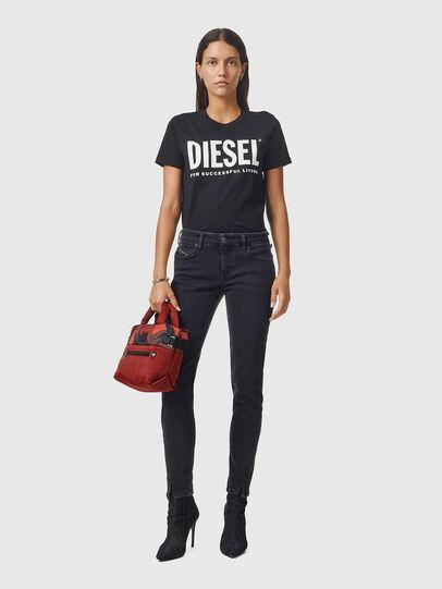 Diesel - D-Jevel 0870G, Schwarz/Dunkelgrau - Jeans - Image 5